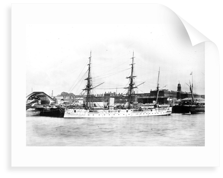 Photograph of HMS 'Dido' by unknown