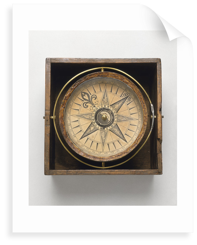Mariner's compass by Jonathan Eade