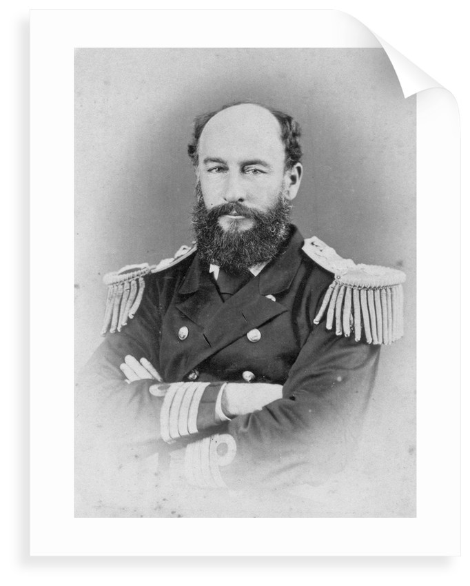 Admiral Sir George Strong Nares KCB (1831-1915), Arctic explorer and commander of 'Challenger' by unknown