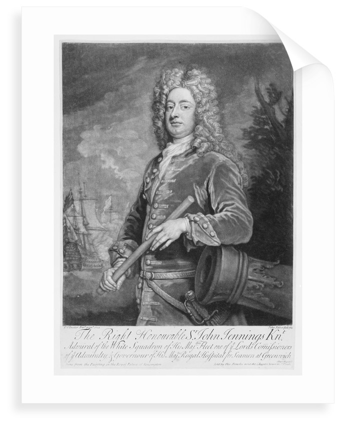 Admiral Sir John Jennings by Godfrey Kneller