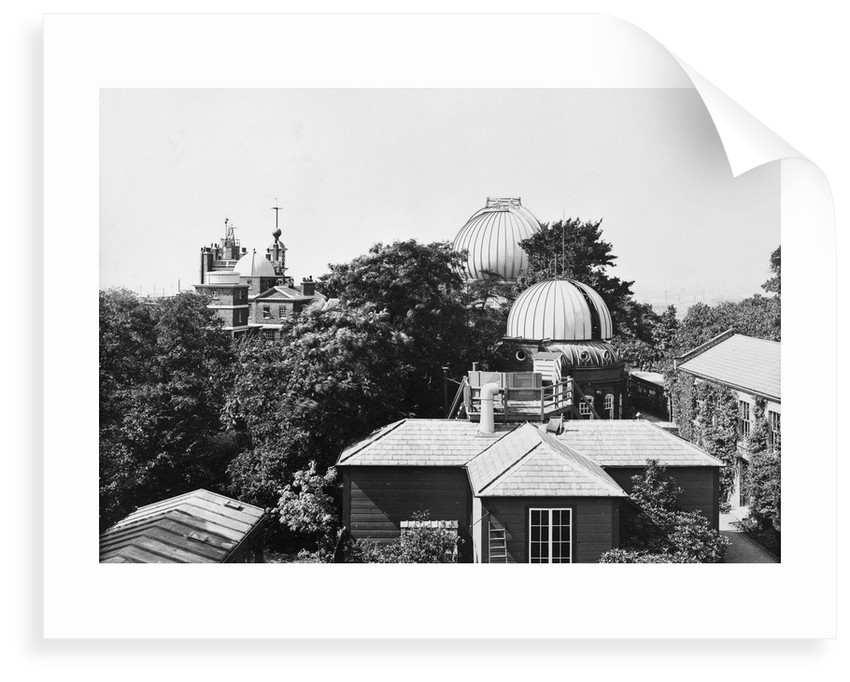 The magnetism and meteorology building, the Royal Observatory, Greenwich by unknown
