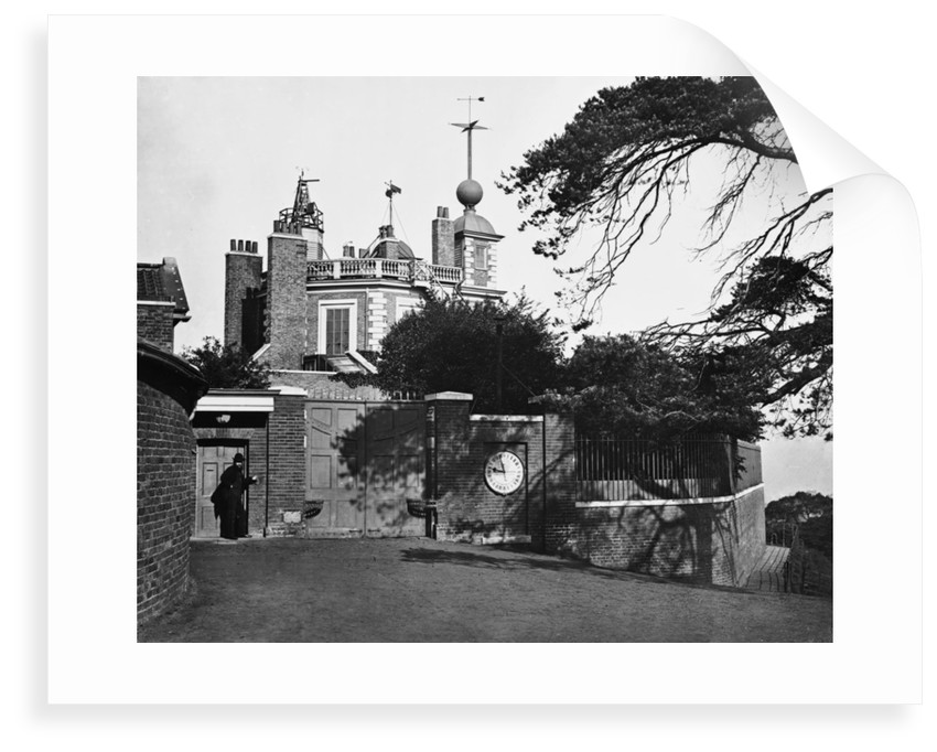 Entrance of the Royal Observatory, Greenwich by unknown