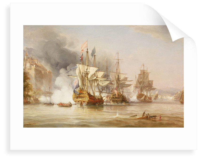 The capture of Puerto Bello, 21 November 1739 by George Chambers