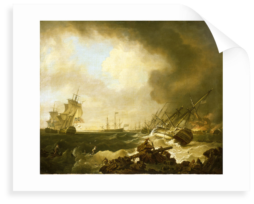 The Battle of Quiberon Bay, 21 November 1759: the Day After by Richard Wright
