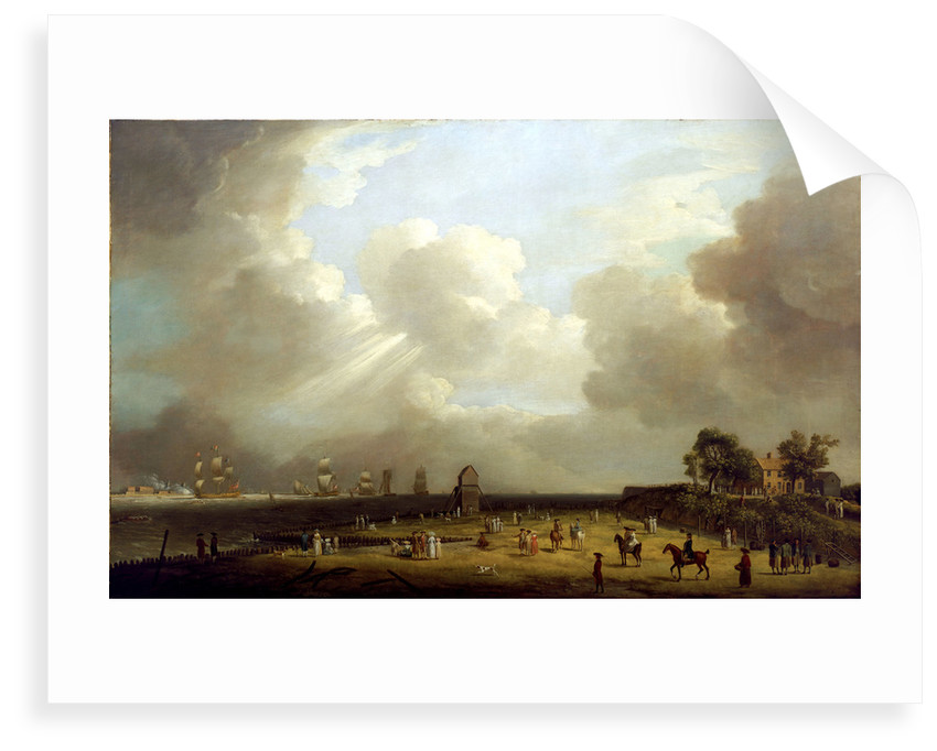 Princess Charlotte arriving at Harwich, September 1761 by Dominic Serres the Elder
