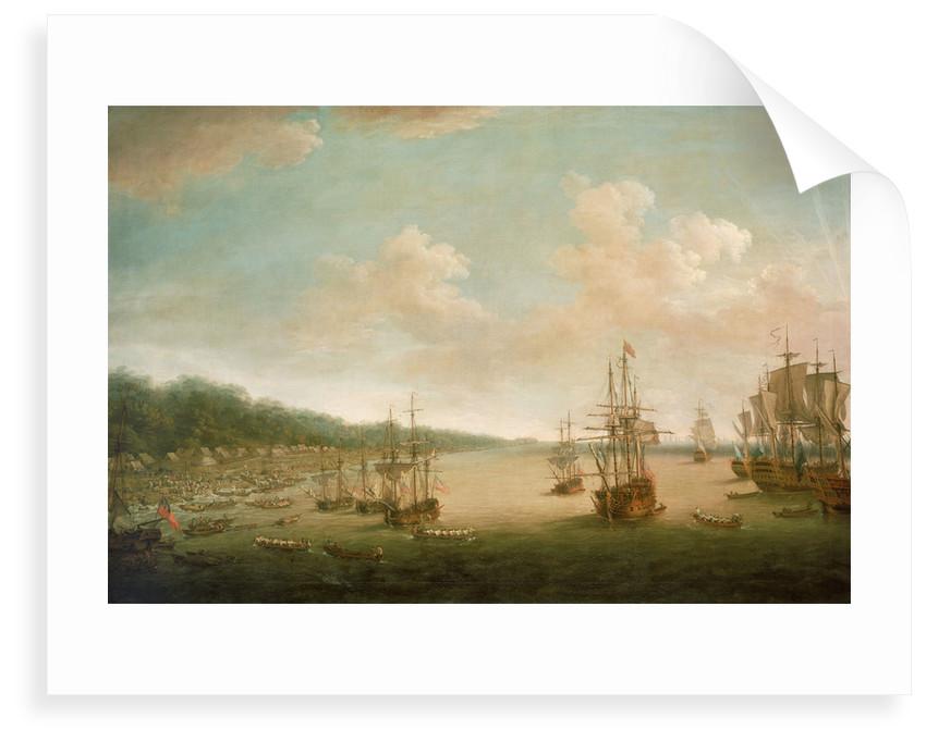 The capture of Havana: the Landing, 7 June 1762 by Dominic Serres the Elder