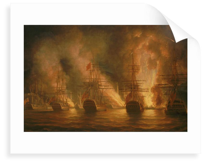 The capture of Trinidad, 17 February 1797 by Nicholas Pocock