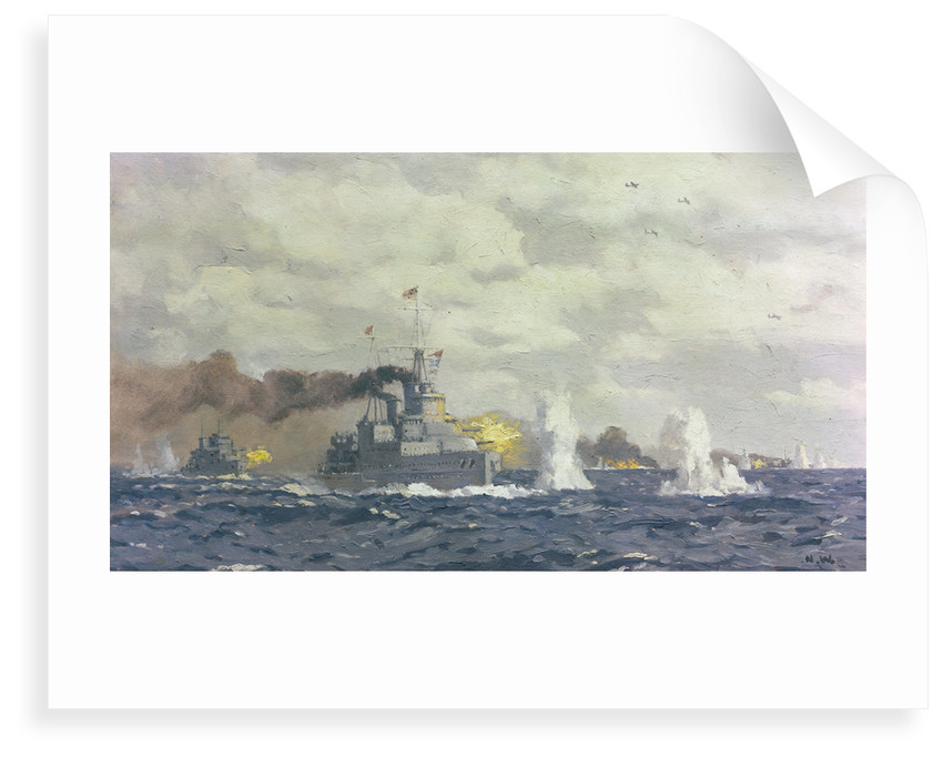 The Battle of the Bay of Biscay, 28 December 1943 by Norman Wilkinson