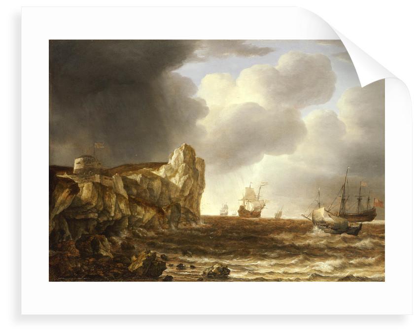 Shipping off the English coast by Simon de Vlieger