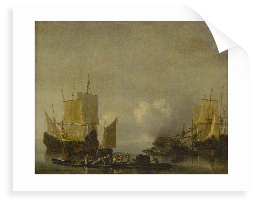 Ships being repaired by Reinier Nooms