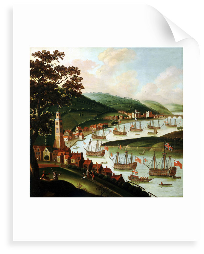 Ships laid up in the Medway by Netherlandish School