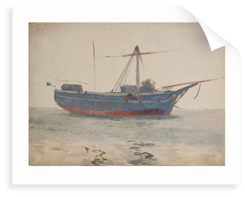 A fishing boat by John Fraser