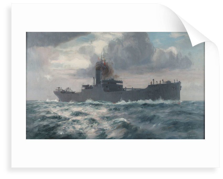 A standard merchantman at the time of the First World War by Arthur James Wetherall Burgess