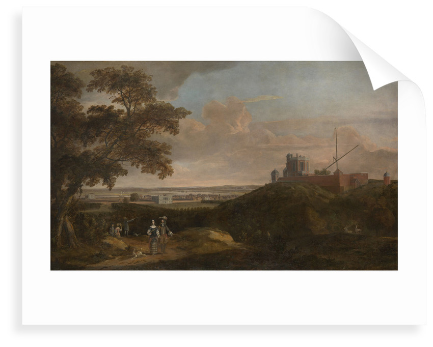 Royal Observatory from Crooms Hill by English School