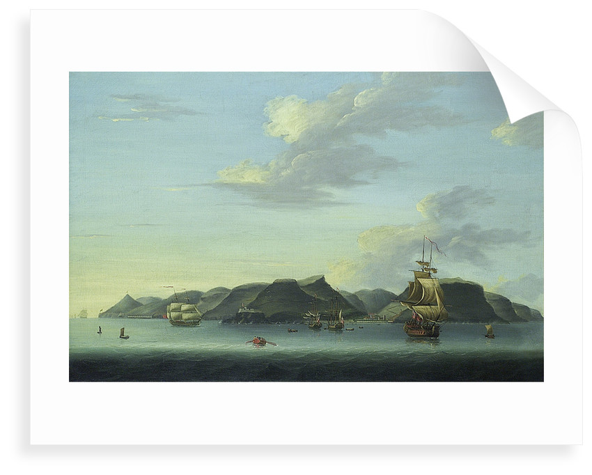Shipping off Saint Helena by Adam Callander