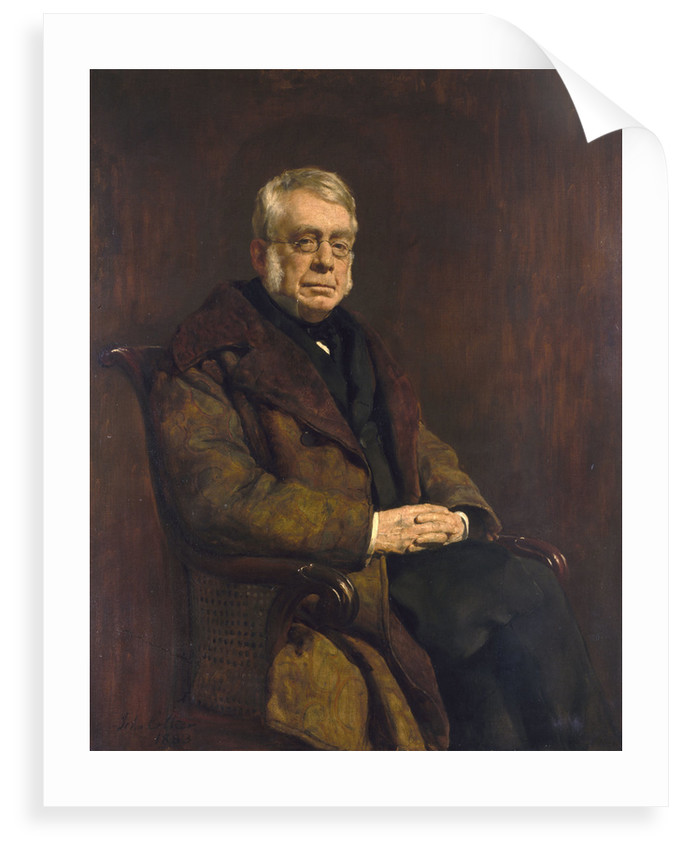 Sir George Biddell Airy (1801-1892) by John Collier