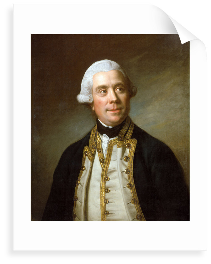 Captain the Honourable Samuel Barrington (1729-1800) by Nathaniel Dance