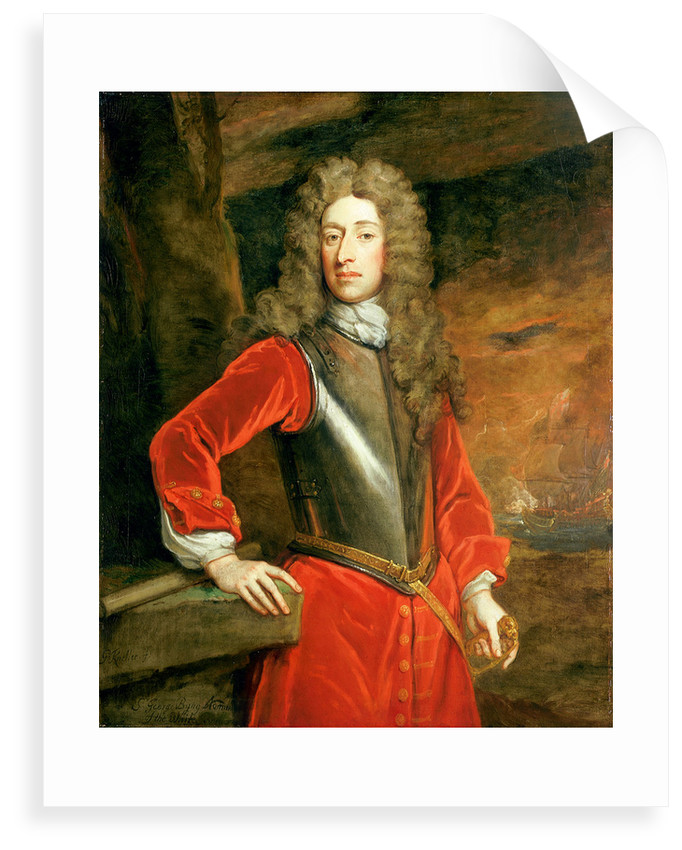 Admiral of the Fleet George Byng, 1st Viscount Torrington (1663-1733) by Godfrey Kneller