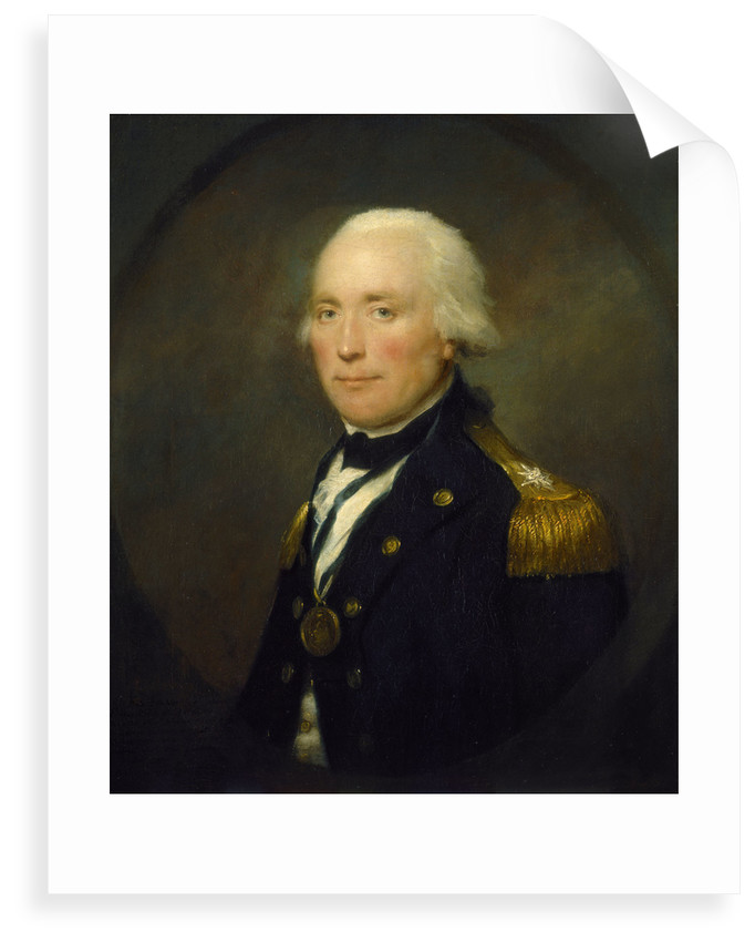 Rear-Admiral Sir Robert Calder (1745-1815) by Lemuel Francis Abbott