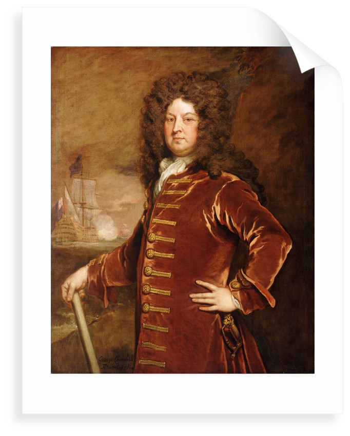 Admiral George Churchill (1654-1710) by Godfrey Kneller