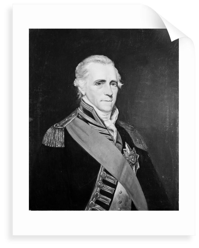 Admiral Sir John Colpoys (1742?-1821) by W. Savage