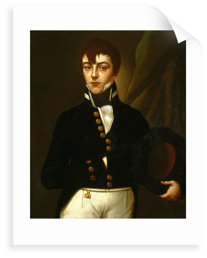 Midshipman Robert Deans (1790-1867) by British School