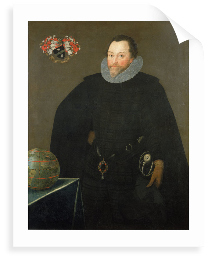 Sir Francis Drake (1540-1596) by Marcus Gheeraerts the Younger