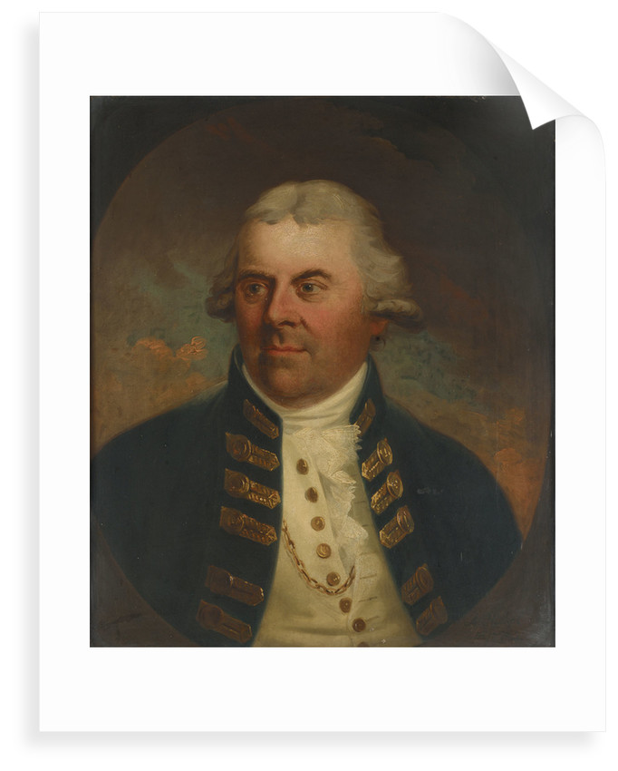 Vice-Admiral Lord Alan Gardner (1742-1809) by Karl Anton Hickel