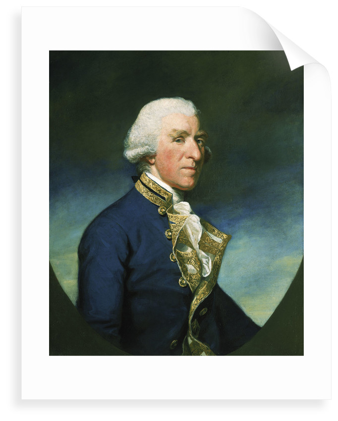 Admiral Samuel Hood, 1st Viscount Hood (1724-1816) by James Northcote