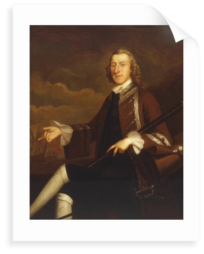 Viscount Samuel Hood (1724-1816) by John Wollaston