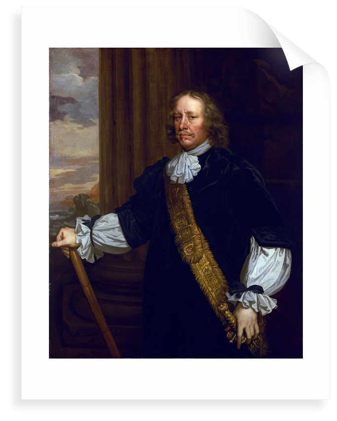 Flagmen of Lowestoft: Vice-Admiral Sir Joseph Jordan (1603-1685) by Peter Lely
