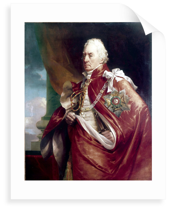 Admiral Lord George Keith Elphinstone, 1st Viscount Keith (1746-1823) by George Lethbridge Sanders