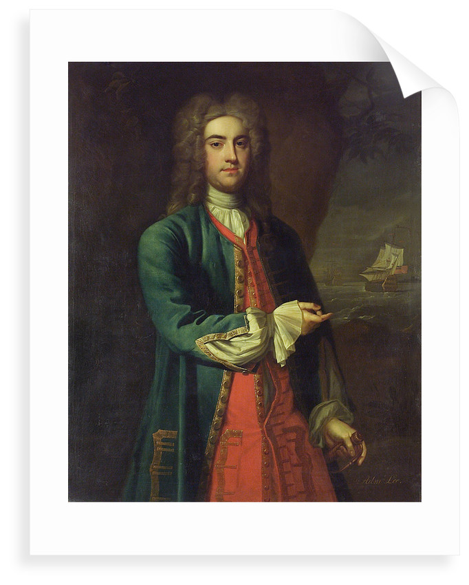 Vice-Admiral Fitzroy Henry Lee (1699-1750) by British School