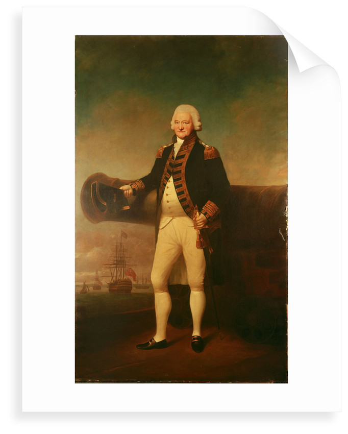 Admiral Sir Peter Parker (1721-1811) by Lemuel Francis Abbott