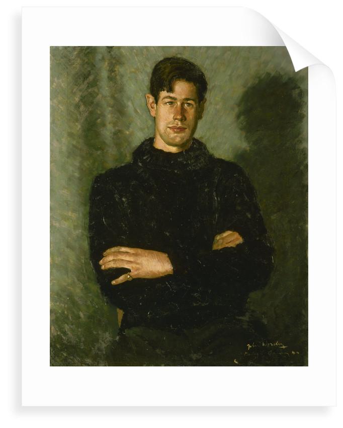 Lieutenant (Basil Charles) Godfrey Place, VC, DSC (1921-1994) by John Worsley