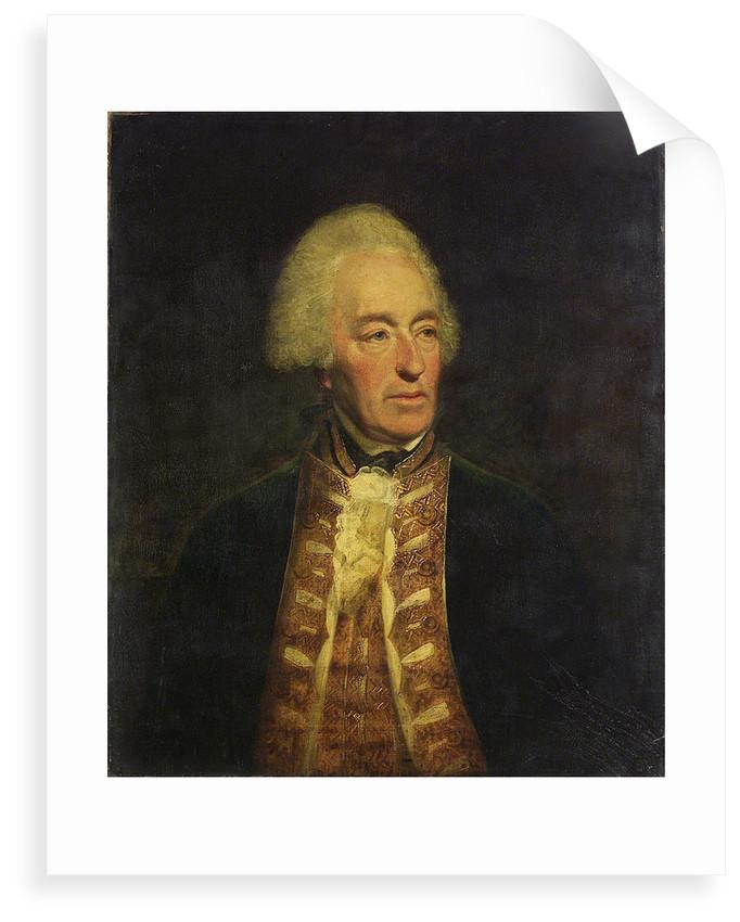 Admiral Robert Roddam (1719-1800) by Lemuel Francis Abbott