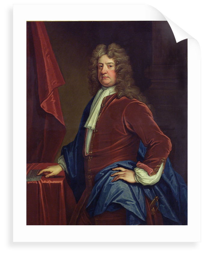 Admiral Edward Russell, 1st Earl of Orford (1653-1727) by Thomas Gibson