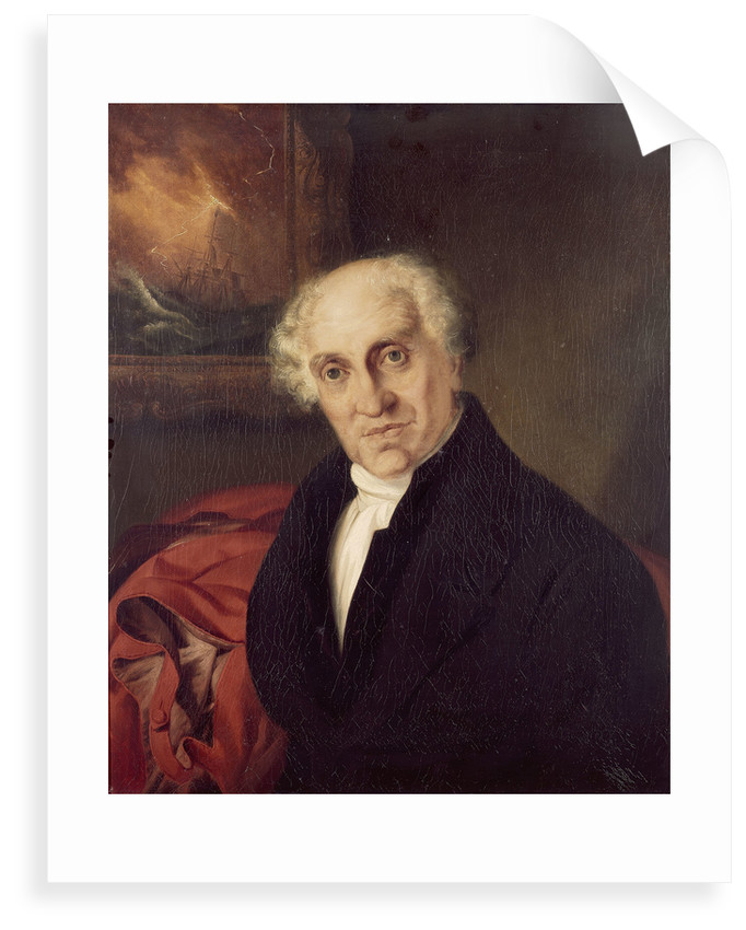 The Reverend Doctor Alexander Scott (1768-1840) by Siegfried Detlen Bendixen