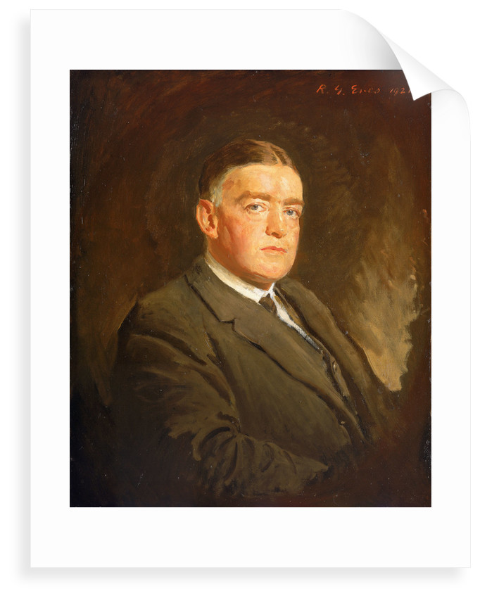 Sir Ernest Henry Shackleton (1874-1922) by Reginald Grenville Eves
