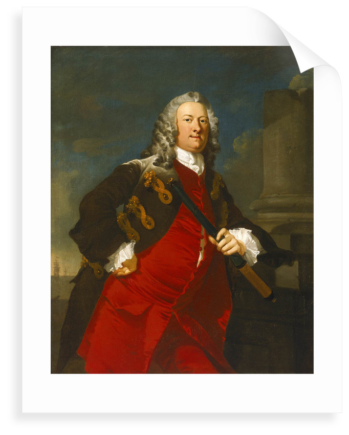 Commodore Thomas Smith (1707-1762) by Richard Wilson
