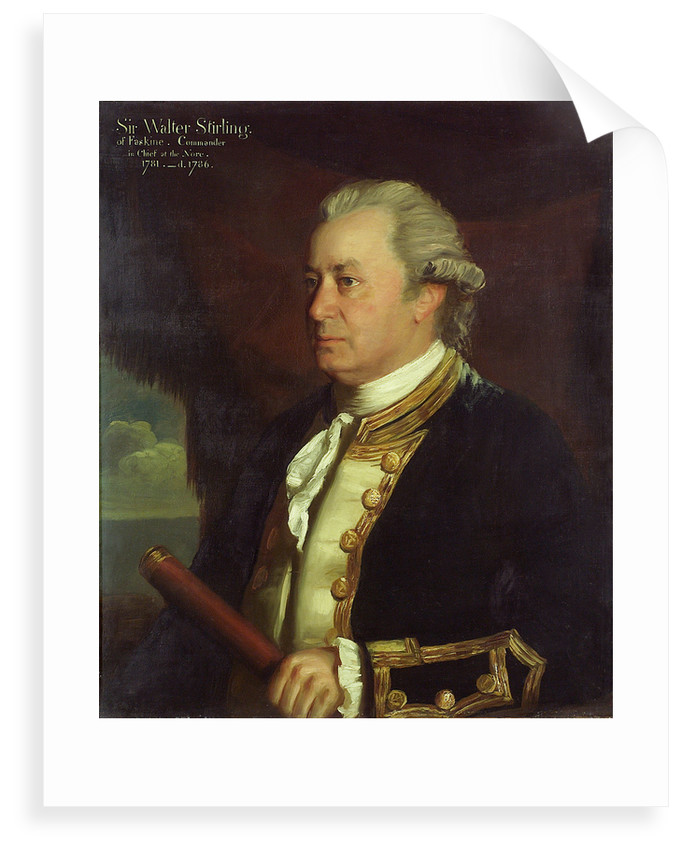 Captain Sir Walter Stirling (1718-1786) by James Northcote