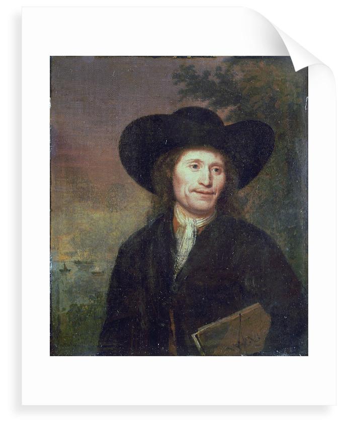 Portrait of a gentleman (circa 1670) by unknown