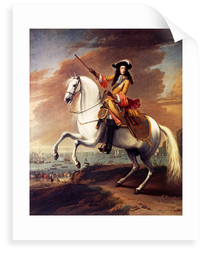 William III landing at Brixham, Torbay, 5 November 1688 by Jan Wyck