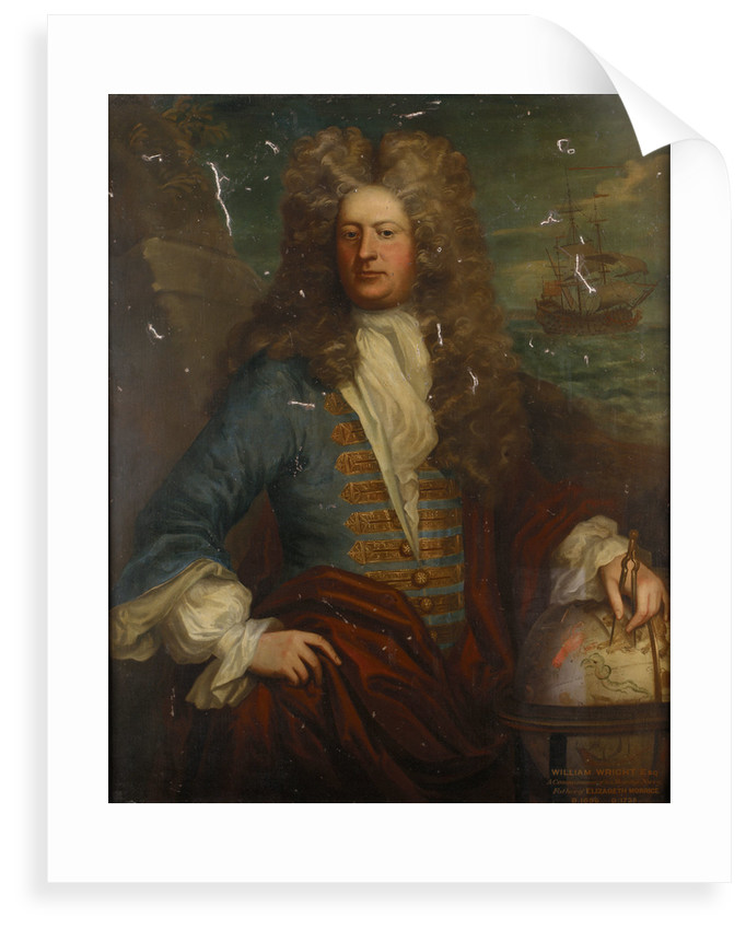 William Wright (1656-1735) by Michael Dahl