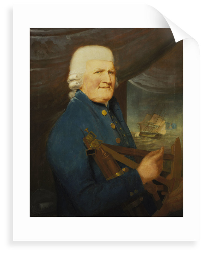 Portrait of a merchant navy captain by Robert Willoughby