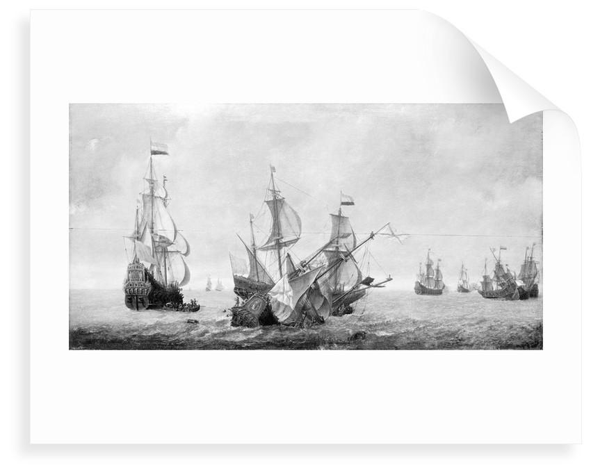 The 'Eendracht' by Jeronimus van Diest