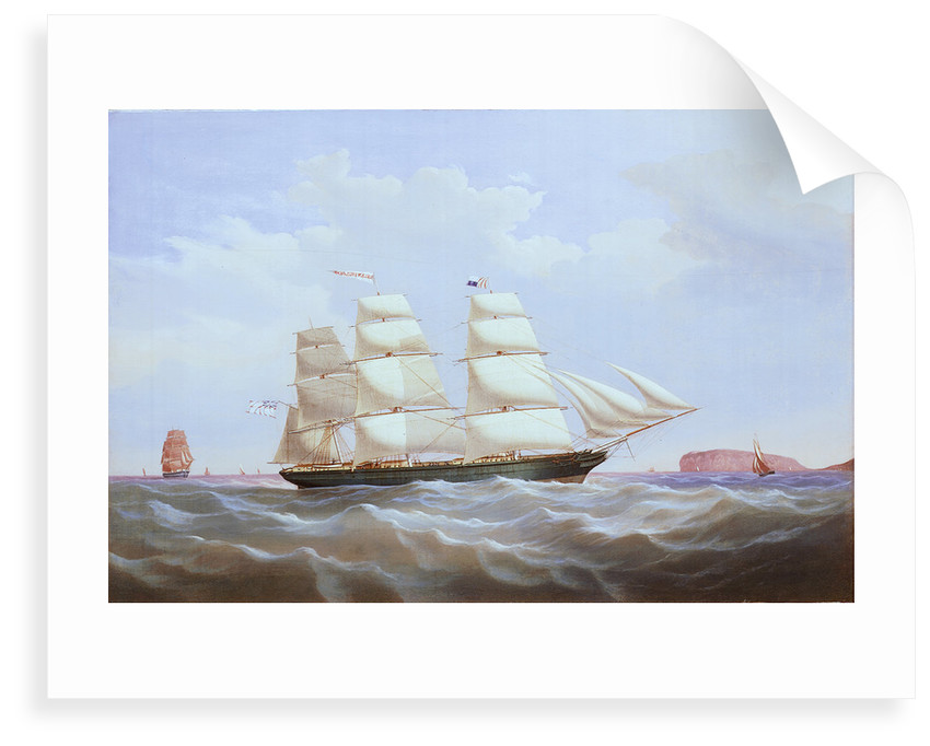 The ship 'Helen Heilgers' by unknown