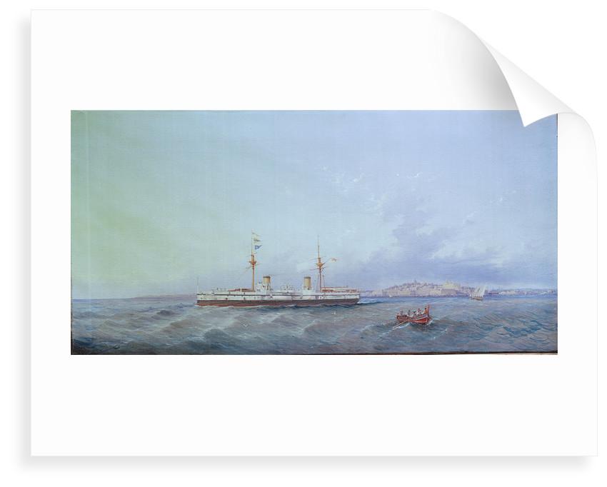 HMS 'Inflexible' by Luigi Galea