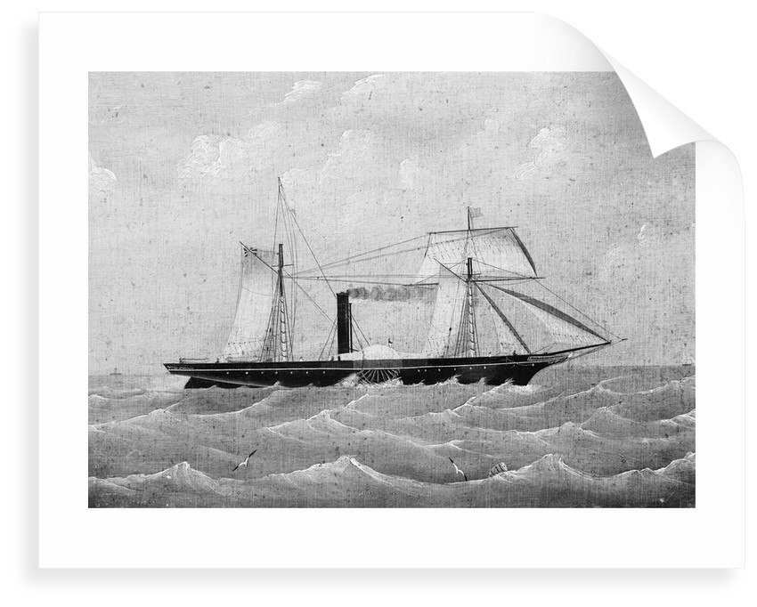 The steamship 'Moselle' (1852) by British School