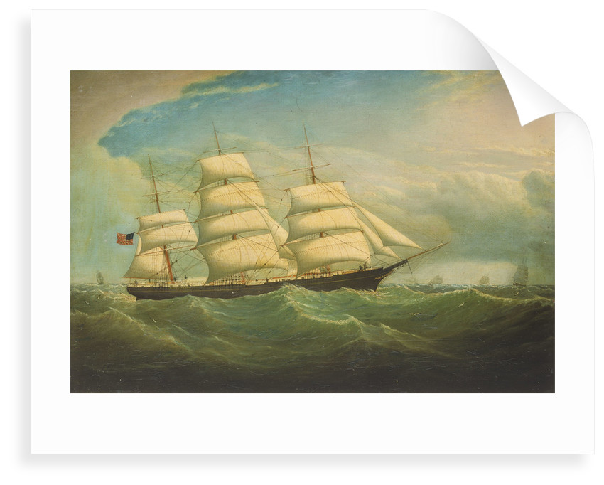 The clipper 'William McGilvery' by J Whitham